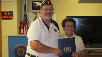 Installation of Officers, Coaldale American Legion, Coaldale, 9-12-2015 (10)