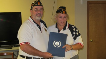 Installation of Officers, Coaldale American Legion, Coaldale, 9-12-2015 (11)
