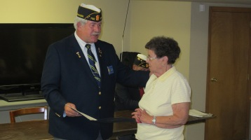 Installation of Officers, Coaldale American Legion, Coaldale, 9-12-2015 (12)