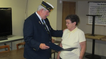 Installation of Officers, Coaldale American Legion, Coaldale, 9-12-2015 (14)