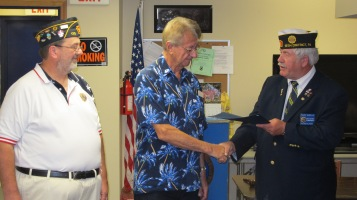 Installation of Officers, Coaldale American Legion, Coaldale, 9-12-2015 (19)