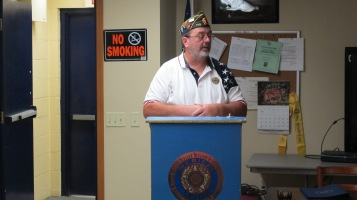Installation of Officers, Coaldale American Legion, Coaldale, 9-12-2015 (2)