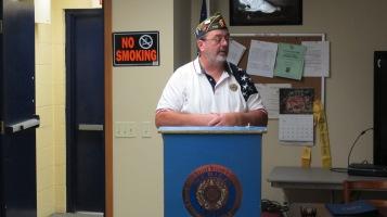 Installation of Officers, Coaldale American Legion, Coaldale, 9-12-2015 (2)