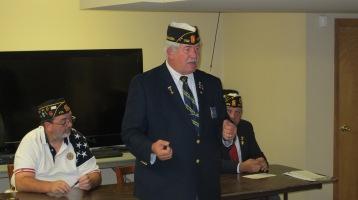 Installation of Officers, Coaldale American Legion, Coaldale, 9-12-2015 (23)