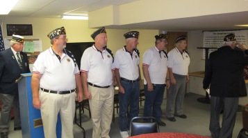 Installation of Officers, Coaldale American Legion, Coaldale, 9-12-2015 (24)