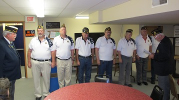 Installation of Officers, Coaldale American Legion, Coaldale, 9-12-2015 (25)