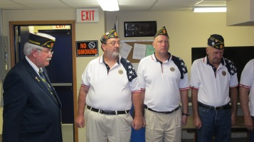 Installation of Officers, Coaldale American Legion, Coaldale, 9-12-2015 (26)