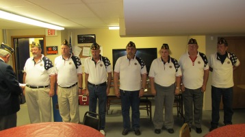 Installation of Officers, Coaldale American Legion, Coaldale, 9-12-2015 (27)