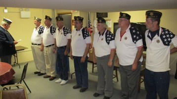 Installation of Officers, Coaldale American Legion, Coaldale, 9-12-2015 (29)