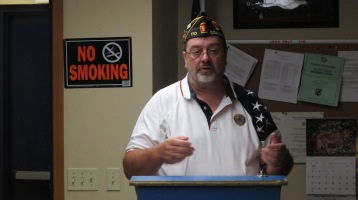Installation of Officers, Coaldale American Legion, Coaldale, 9-12-2015 (3)