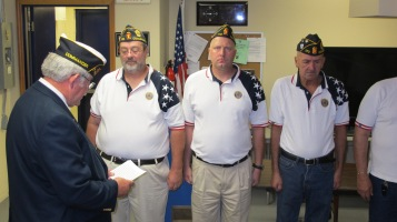 Installation of Officers, Coaldale American Legion, Coaldale, 9-12-2015 (30)