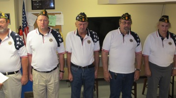 Installation of Officers, Coaldale American Legion, Coaldale, 9-12-2015 (31)