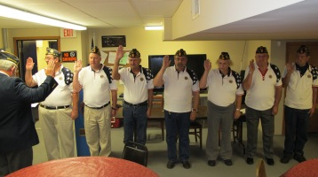 Installation of Officers, Coaldale American Legion, Coaldale, 9-12-2015 (33)