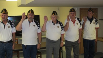 Installation of Officers, Coaldale American Legion, Coaldale, 9-12-2015 (35)