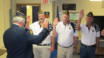 Installation of Officers, Coaldale American Legion, Coaldale, 9-12-2015 (36)