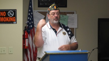Installation of Officers, Coaldale American Legion, Coaldale, 9-12-2015 (4)