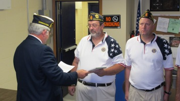 Installation of Officers, Coaldale American Legion, Coaldale, 9-12-2015 (40)