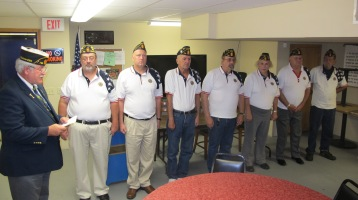 Installation of Officers, Coaldale American Legion, Coaldale, 9-12-2015 (41)
