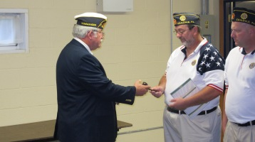 Installation of Officers, Coaldale American Legion, Coaldale, 9-12-2015 (43)