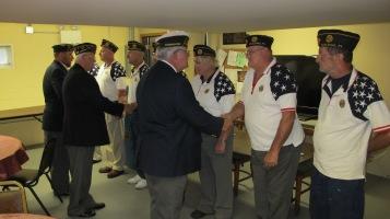 Installation of Officers, Coaldale American Legion, Coaldale, 9-12-2015 (46)