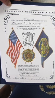 Installation of Officers, Coaldale American Legion, Coaldale, 9-12-2015 (56)