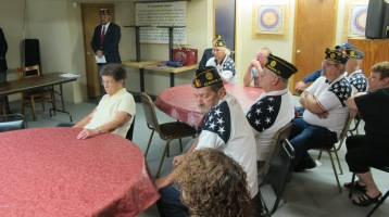 Installation of Officers, Coaldale American Legion, Coaldale, 9-12-2015 (6)
