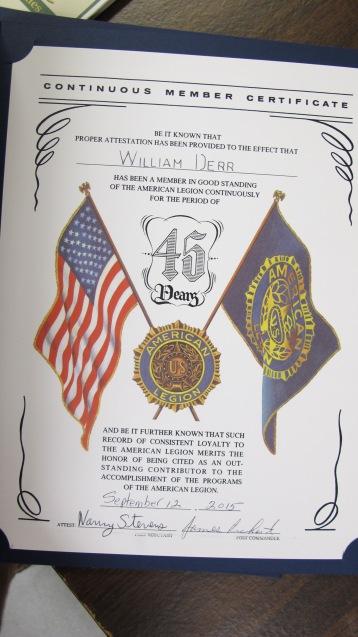 Installation of Officers, Coaldale American Legion, Coaldale, 9-12-2015 (60)