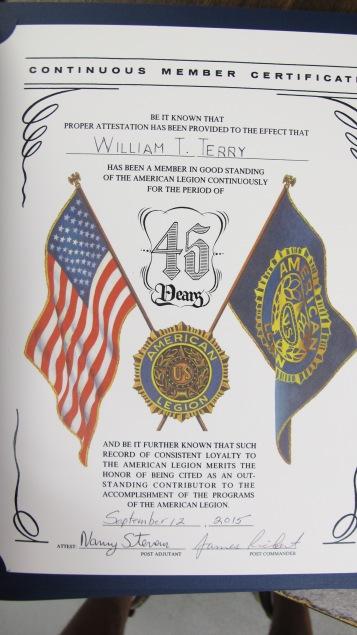 Installation of Officers, Coaldale American Legion, Coaldale, 9-12-2015 (61)