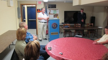 Installation of Officers, Coaldale American Legion, Coaldale, 9-12-2015 (7)