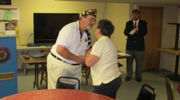 Installation of Officers, Coaldale American Legion, Coaldale, 9-12-2015 (9)