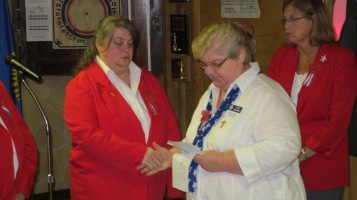 Installation of Officers, Tamaqua American Legion, Tamaqua, 9-12-2015 (11)
