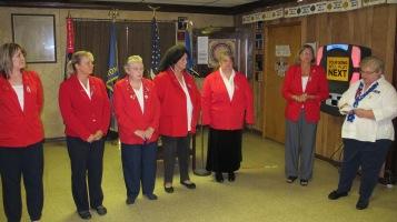 Installation of Officers, Tamaqua American Legion, Tamaqua, 9-12-2015 (2)
