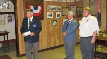 Installation of Officers, Tamaqua American Legion, Tamaqua, 9-12-2015 (23)