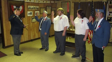 Installation of Officers, Tamaqua American Legion, Tamaqua, 9-12-2015 (27)