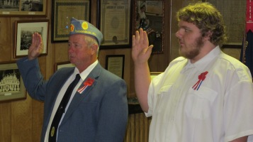 Installation of Officers, Tamaqua American Legion, Tamaqua, 9-12-2015 (29)