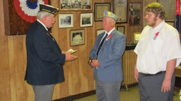 Installation of Officers, Tamaqua American Legion, Tamaqua, 9-12-2015 (31)