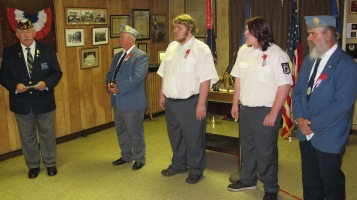 Installation of Officers, Tamaqua American Legion, Tamaqua, 9-12-2015 (33)