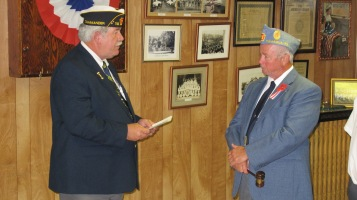 Installation of Officers, Tamaqua American Legion, Tamaqua, 9-12-2015 (35)
