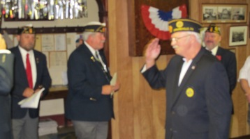 Installation of Officers, Tamaqua American Legion, Tamaqua, 9-12-2015 (38)