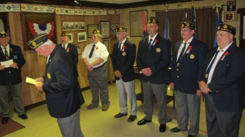 Installation of Officers, Tamaqua American Legion, Tamaqua, 9-12-2015 (41)