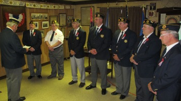 Installation of Officers, Tamaqua American Legion, Tamaqua, 9-12-2015 (45)