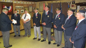 Installation of Officers, Tamaqua American Legion, Tamaqua, 9-12-2015 (46)