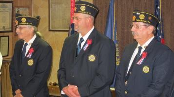 Installation of Officers, Tamaqua American Legion, Tamaqua, 9-12-2015 (49)