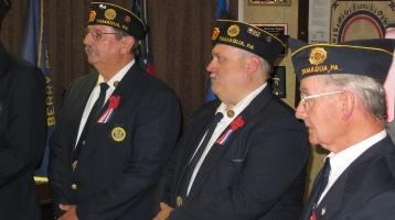 Installation of Officers, Tamaqua American Legion, Tamaqua, 9-12-2015 (50)