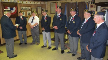 Installation of Officers, Tamaqua American Legion, Tamaqua, 9-12-2015 (51)