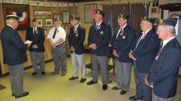 Installation of Officers, Tamaqua American Legion, Tamaqua, 9-12-2015 (51)