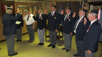 Installation of Officers, Tamaqua American Legion, Tamaqua, 9-12-2015 (53)