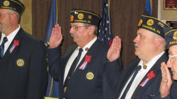 Installation of Officers, Tamaqua American Legion, Tamaqua, 9-12-2015 (56)