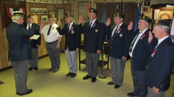 Installation of Officers, Tamaqua American Legion, Tamaqua, 9-12-2015 (58)