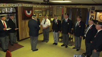 Installation of Officers, Tamaqua American Legion, Tamaqua, 9-12-2015 (60)